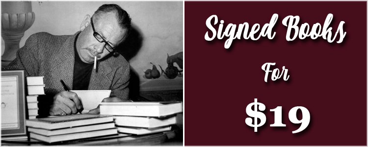 Signed Books for $19