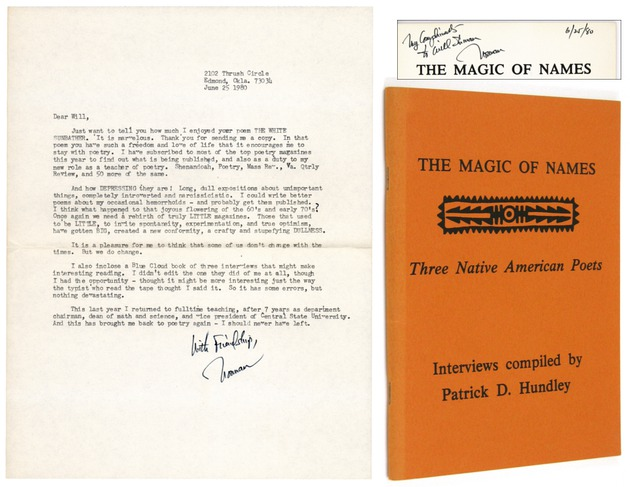 RUSSELL, Norman H  - Typed Letter Signed and The Magic of