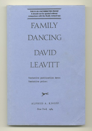 LEAVITT, DAVID, - Family Dancing.
