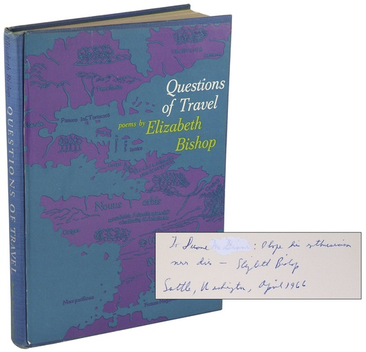 Questions of Travel: a Poem by Elizabeth Bishop