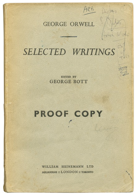 by collection essay george orwell