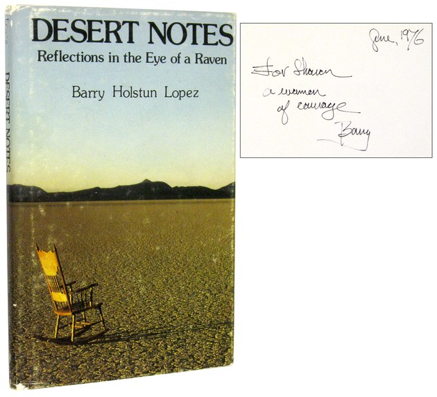 barry lopez the raven Desert notes: reflections in the eye of a raven: barry holstun lopez: 9780836206616: books - amazonca.