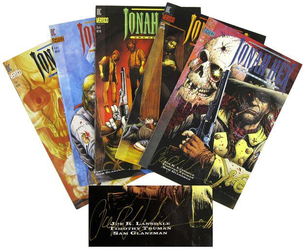 LANSDALE, JOE R., - Jonah Hex: Two-Gun Mojo [Complete Series, Signed].