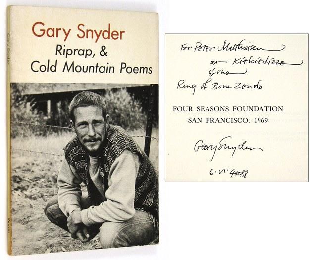 Snyder Gary Riprap Cold Mountain Poems Ken Lopez