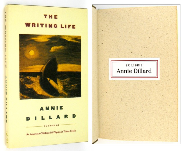 "annie dillard the writing life The morning news: ""annie dillard and the writing life""  childhood, holy the  firm—and the best american essays of 1988, edited, yes, by annie dillard."