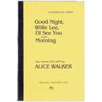 Item #20063: WALKER, Alice - Good Night Willie Lee, I'll See You in the Morning
