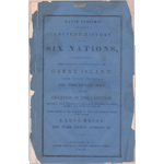 Item #25431: CUSICK, David - Sketches of Ancient History of the Six Nations